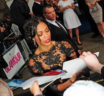 London Celebrity Photographer David Kerr : Zoe Saldana ...
