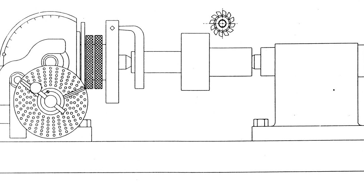 gear milling machine