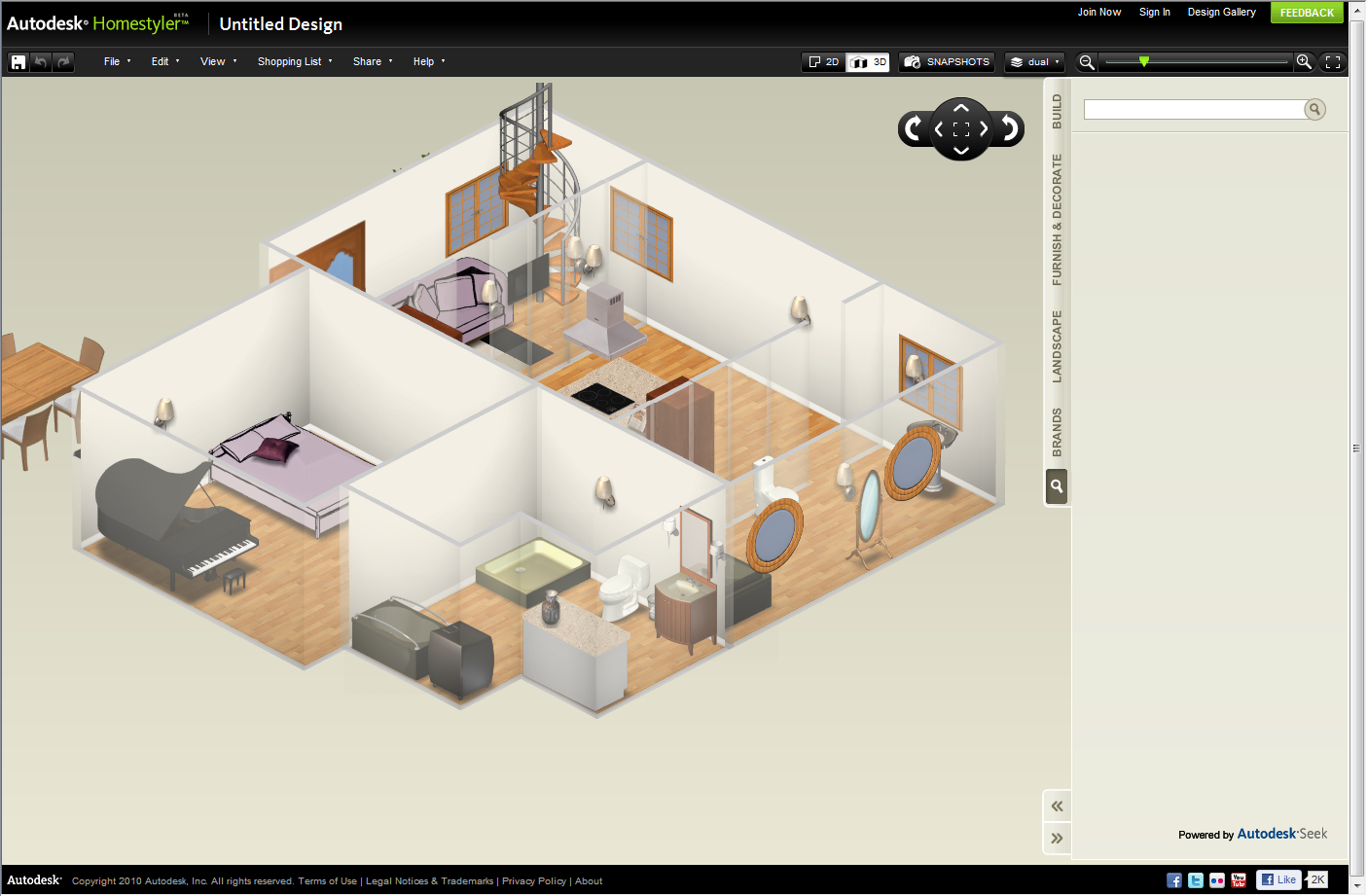 Ideate Solutions: January 2011 - Design A Kitchen Floor Plan For Free Online