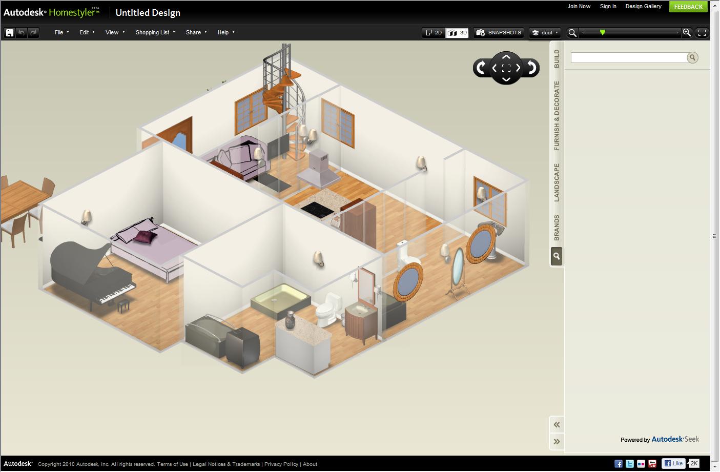 Homestyler Designer