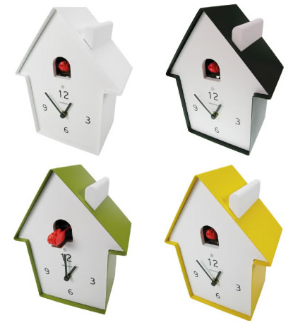 Girl Boy A House Modern Cuckoo Clocks