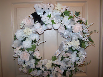 WEDDING WISHES WREATH (PICK YOUR OWN COLORS)