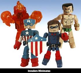 Marvel Minimates Invaders Human Torch