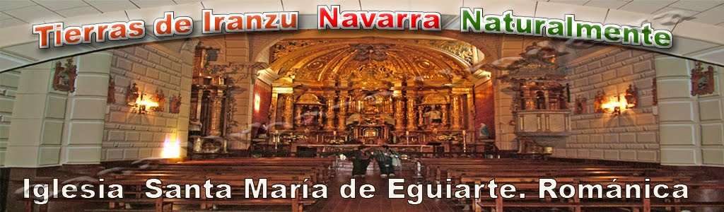Iglesia Santa María de Eguiarte. Valle de Yerri
