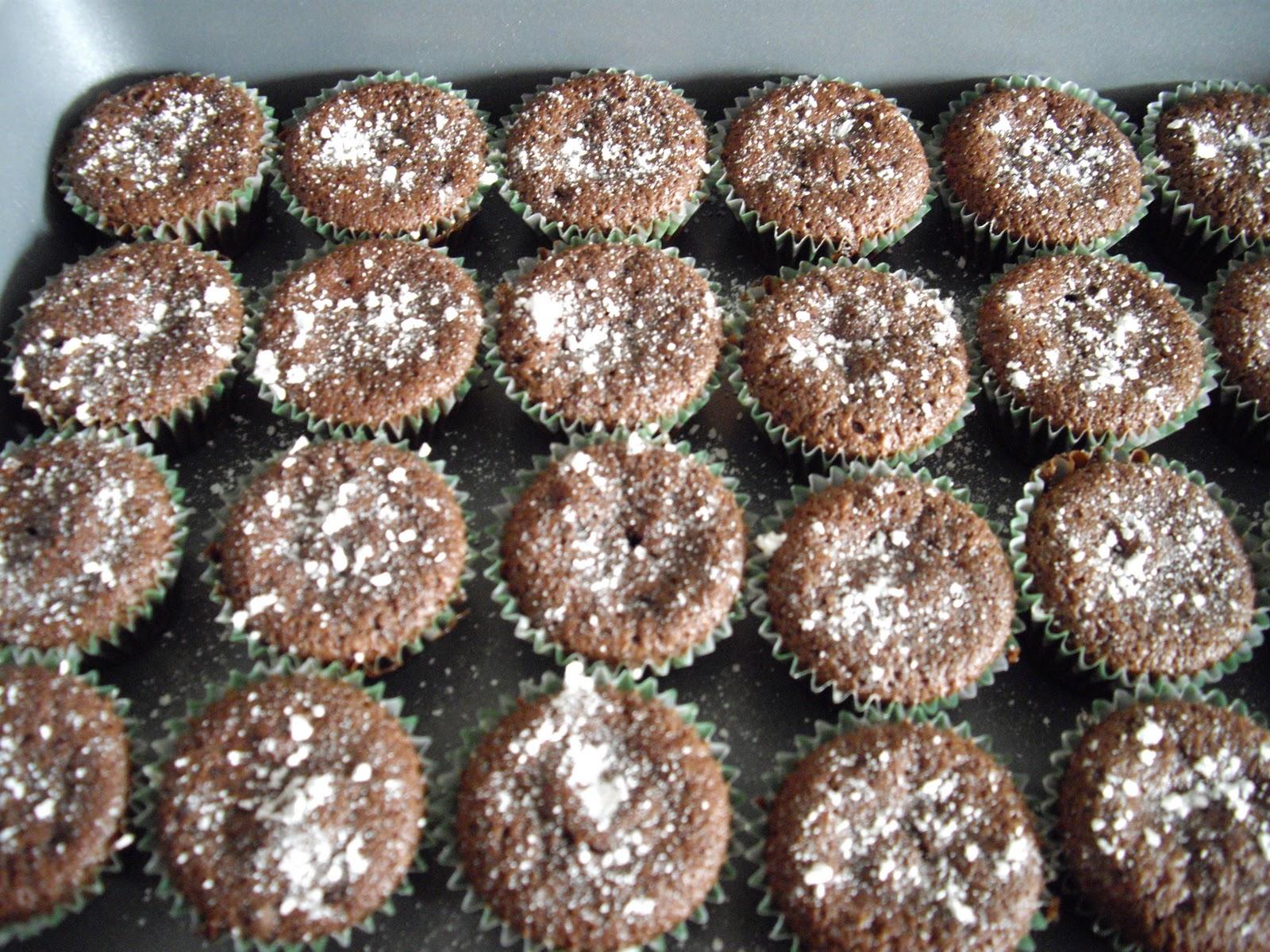 Flourless Chocolate Mini Cupcakes Cooking Ala Mel