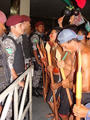 Violência contra os povos indígenas: DENUNCIE