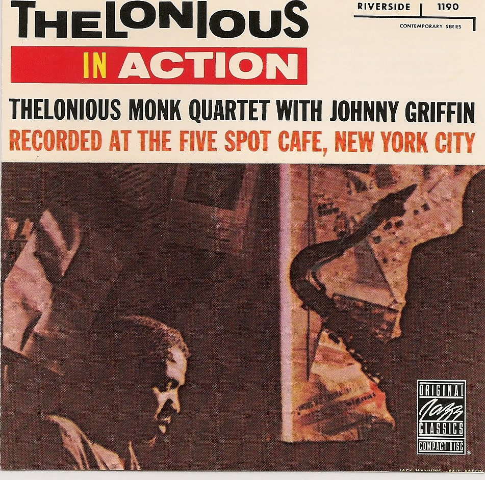 thelonious monk quartet - thelonious in action (sleeve art)