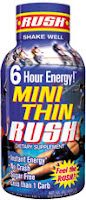 Mini Thin Rush - 6 Hour Energy Shot