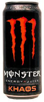Monster Khaos Energy Juice