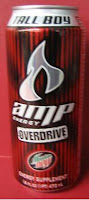 Amp Overdrive Energy Drink