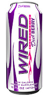 Wired Energy Drink - Diet Berry