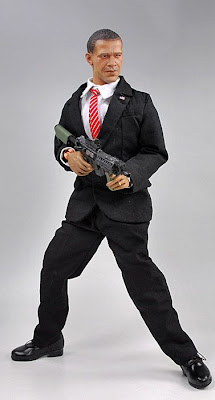 Barack Obama in action-figure.
