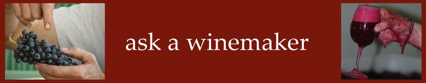 ask a winemaker