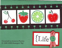 Tart & Tangy Good Life Card