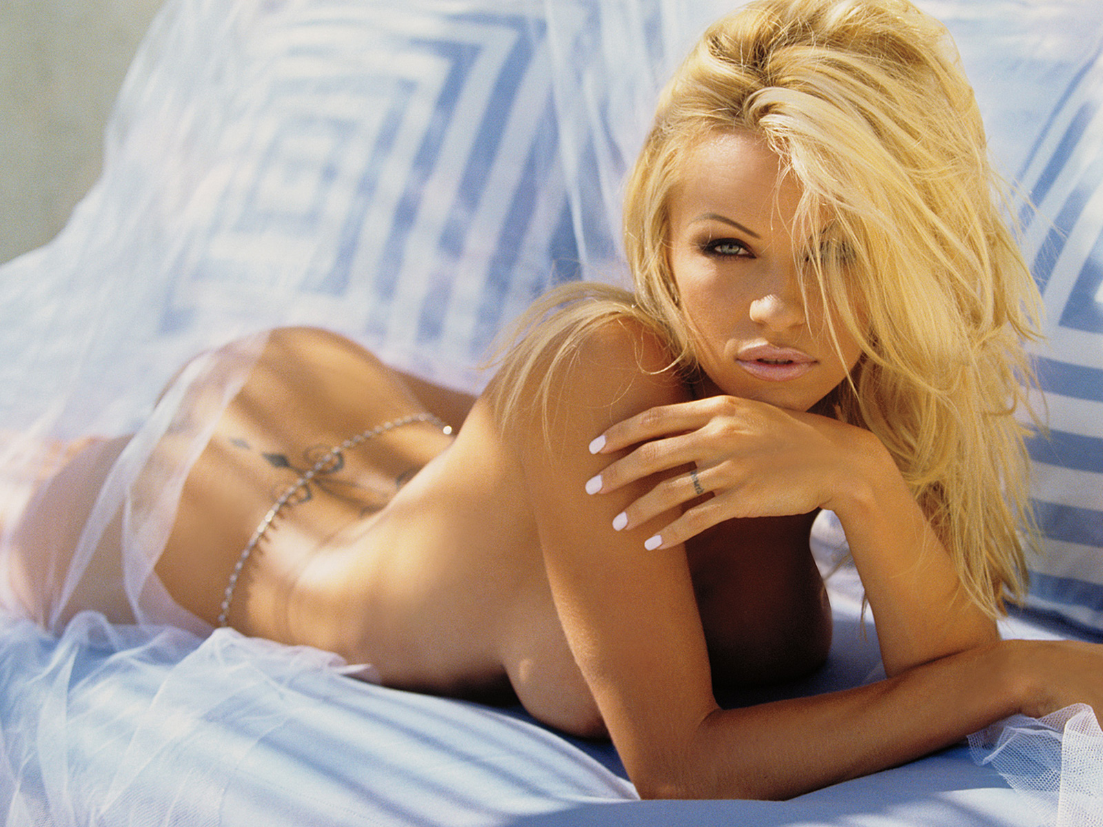 pamela anderson naked wallpaper