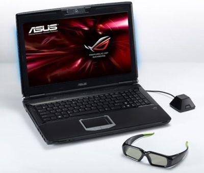 asus laptop 3d