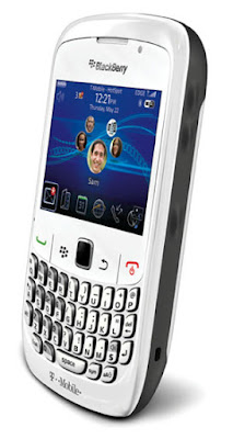 BlackBerry Curve 8520 Phone T Mobile White BlackBerry Curve 8520 Phone, White (T Mobile)