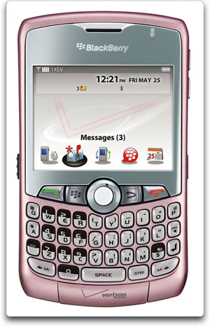 BlackBerry 8330 Pink Verizon Wireless BlackBerry Curve 8330 Phone, Pink (Verizon Wireless)