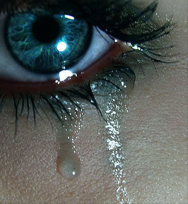 Tears: I don't like to cry or to see people crying
