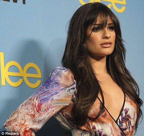 michelle smith beauty and the geek. Glee#39;s Lea Michele is
