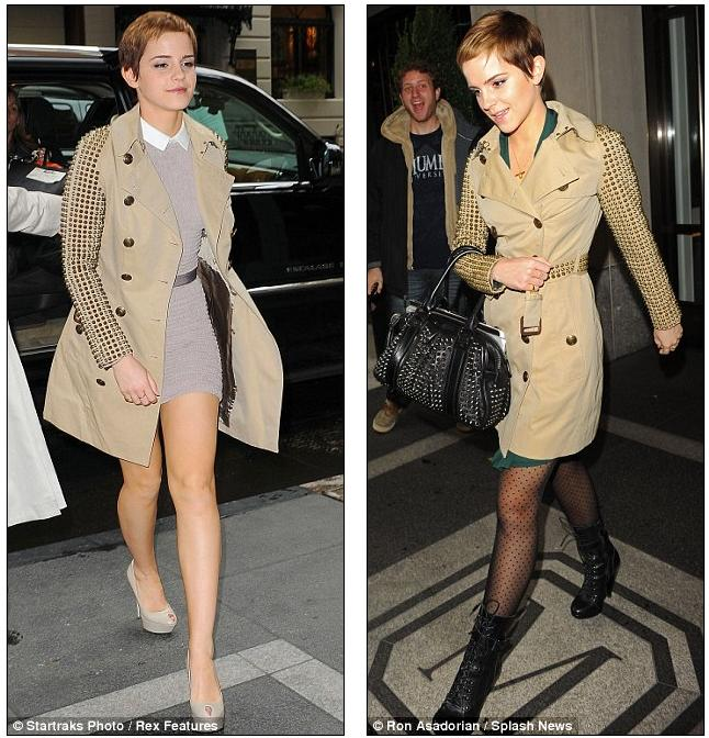 Galleries magazine emma watson 39 s new york fashion show harry potter star brings her sweet Emma watson fashion and style