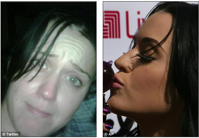 katy perry no makeup twitter pic. Katy+perry+no+makeup+pic