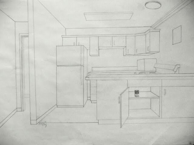 Line Drawing Kitchen : It s elementary my dear artist line upon
