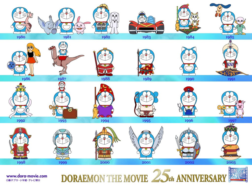 Doraemon The Movie 30th Anniversary Logo