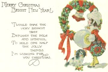 These Examples of Greeting Cards Merry Christmas and New Year - Amazing