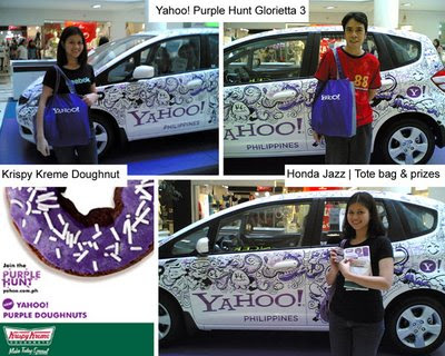 yahoo philippines purple hunt glorietta 3