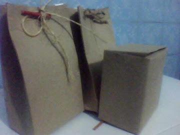 embalagens prontinhas 100% reciclavel