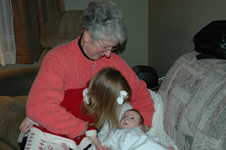 Anna trying to remember wearing the gown