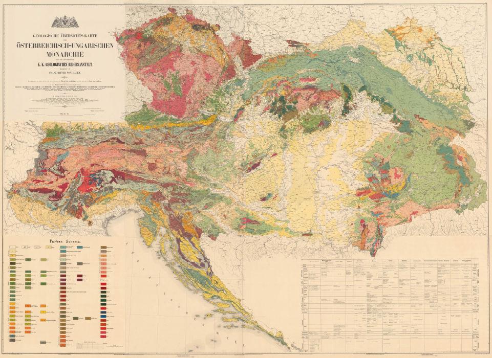 Austria 1850-1918 | Map | StampWorldHistory