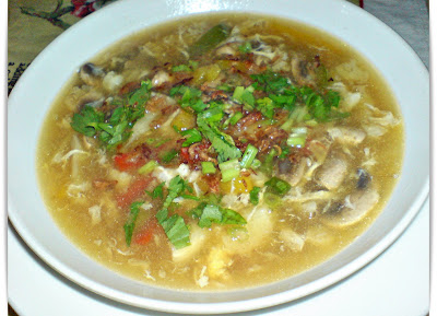 Crab Soup Chinese Style