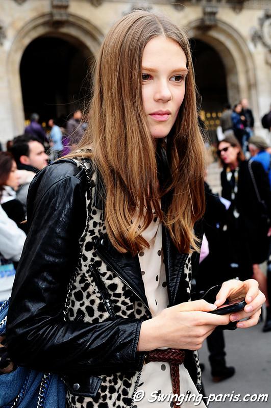 ... Top Fashion Model Caroline Brasch Nielsen biography and photogallary