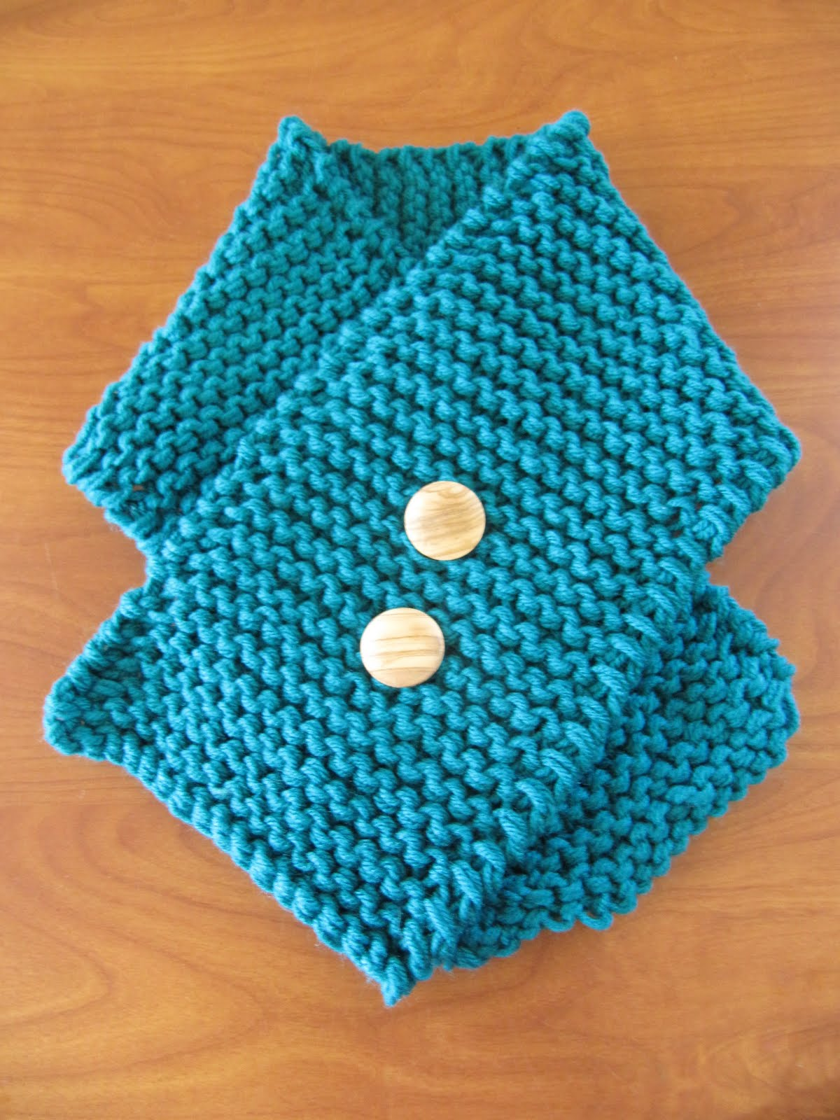 Free Baby Scarf Knitting Pattern : Hipknitized : Free Pattern: Easy Peasy Toddler Scarf