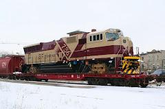 Locomotora EMD SD70M para la Carajás de Brasil