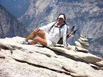 Top of Half Dome, Yosemite Nat'l Park