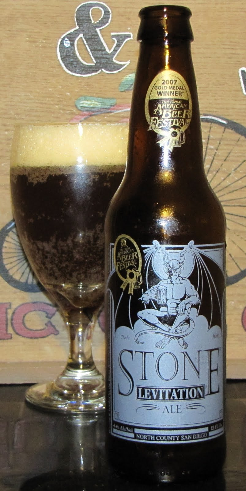 Stone Levitation Beer : Fourboysbrewreview levitation ale stone brewing co