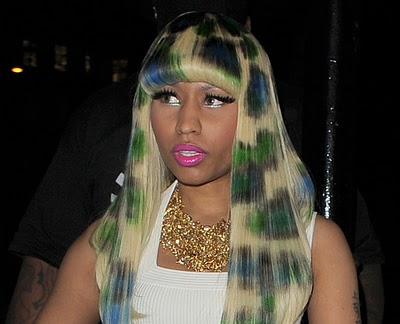 Nicki Minaj Halloween costume.