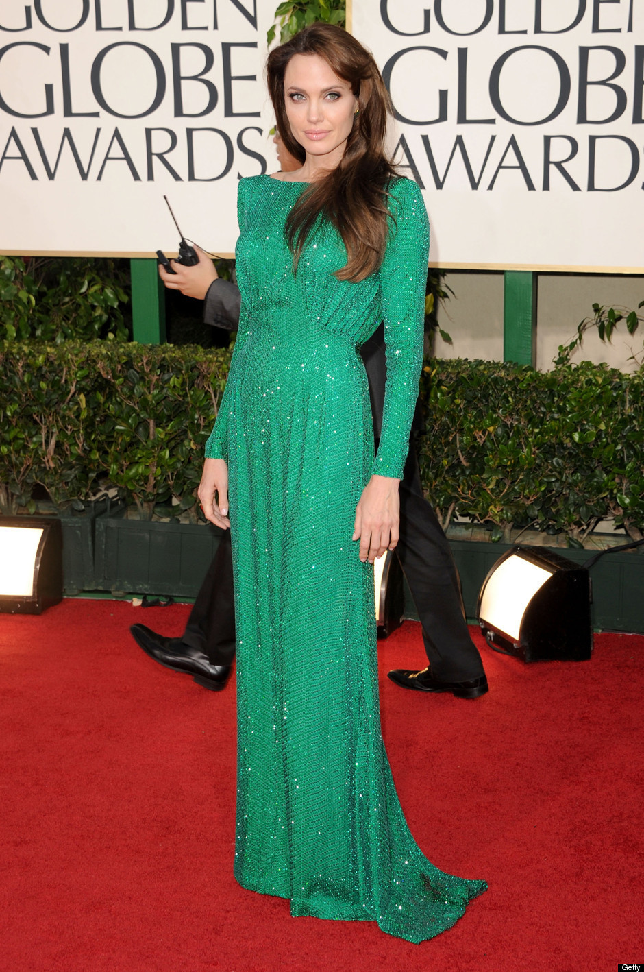 Tiffany Haddish Wears Galia Lahav at the Golden Globes