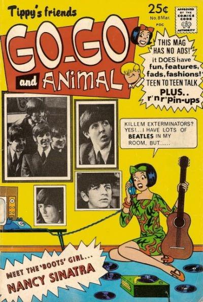 BOOKSTEVE'S LIBRARY: Beatles Comics