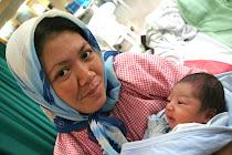 My Lovely Wife 'n' Baby Aqim...