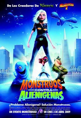 Monstruos contra Alienigenas (Latino) cine online gratis