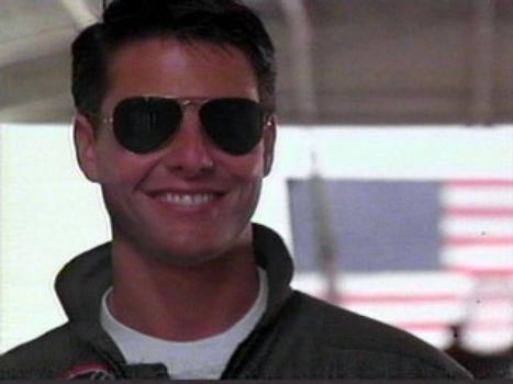 Tom Cruise Teeth Top Gun