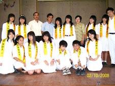 Inti OSis Dan Kordinator SmA Vianney 2008-2009[with Andri]