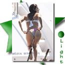 Eva longoria em bikini num iate