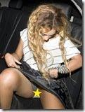 Beyonce descuida-se