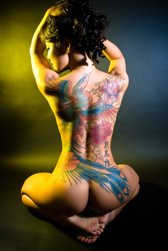 Stripper wing tatoo