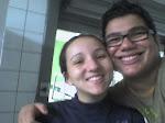 EX-Universitária Selma no Penteado II e nosso amigo repórter no dia da desratização no Ubaldo